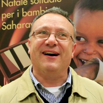El movimiento solidario con la causa saharaui despide al activista italiano Fabio Campioli. Descanse en paz.