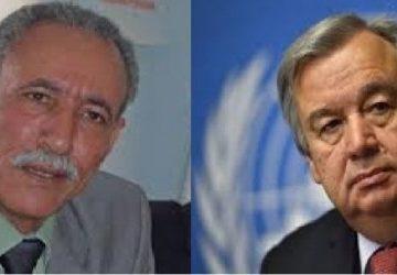 A raíz de la reciente represión en las ZZ.OO: el presidente Brahim Gali pide a la ONU garantizar la protección y seguridad de los civiles saharauis | Sahara Press Service