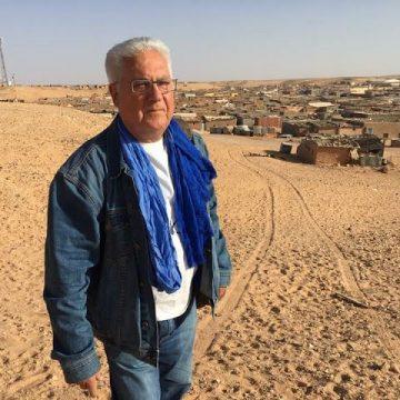 """""""Me di de baja del PSOE porque no podía pertenecer a un partido que traicionaba al pueblo saharaui"""" —  Carlos Cristóbal en El Confidencial Saharaui"""