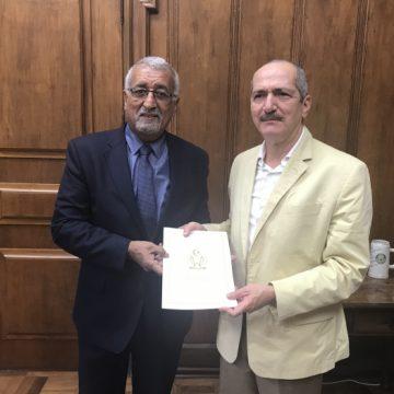 Representante saharaui en Brasil recibido en la sede del gobierno del estado de Sao Paulo   Sahara Press Service
