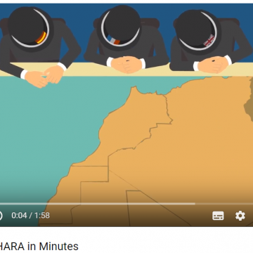 WESTERN SAHARA in Minutes (video) –  Nushatta Foundation