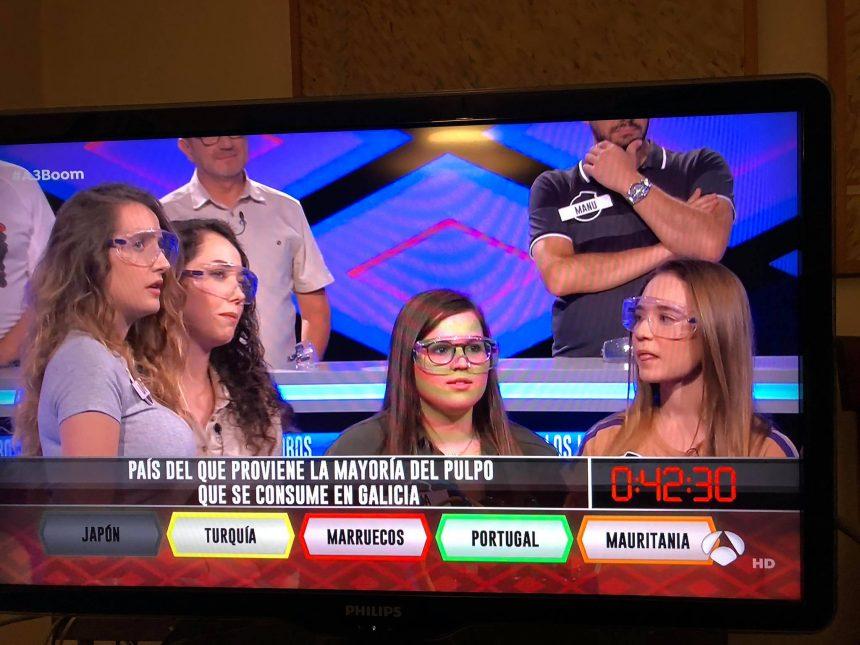 """Antena3 miente en su programa del Boom ese. Marruecos no es el país del que proviene el pulpo que """"se consume en Galicia"""". ¡Es el Sahara Occidental!"""