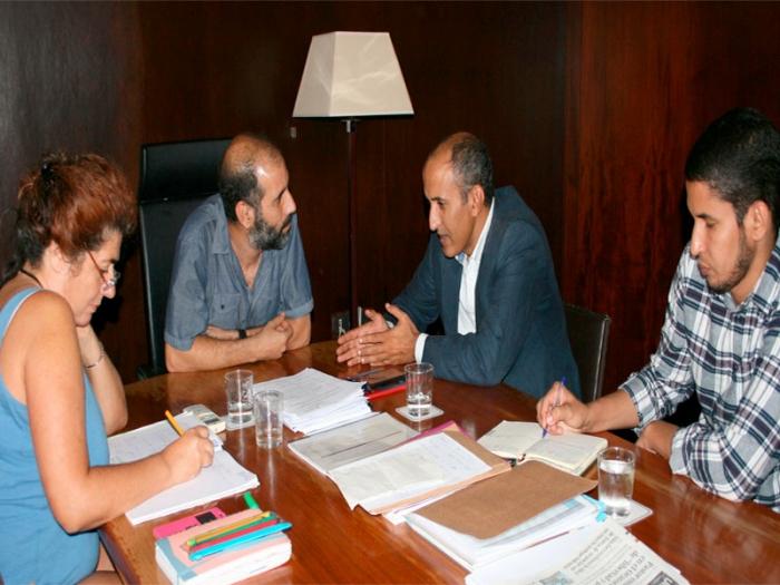 Representante saharaui en Andalucía se reúne con el Alcalde de Puerto Real | Sahara Press Service
