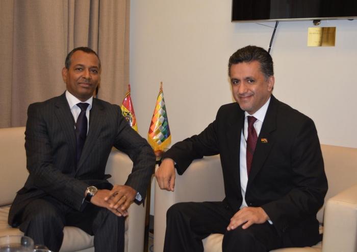 Representante del Frente POLISARIO ante Naciones Unidas se reúne con el Presidente del Consejo de Seguridad | Sahara Press Service