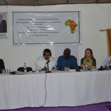 El MAE saharaui acoge la Primera Conferencia Internacional de Movimientos de Liberación, Partidos y Fuerzas Políticas Africanas | Sahara Press Service