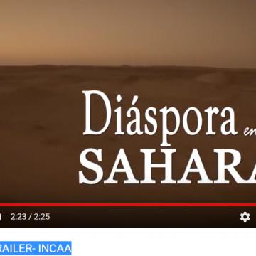 """El profesor Néstor Antonio Suleiman nos habla de """"Diáspora en el Sahara"""" (TRAILER- INCAA) /tiempopyme.com"""