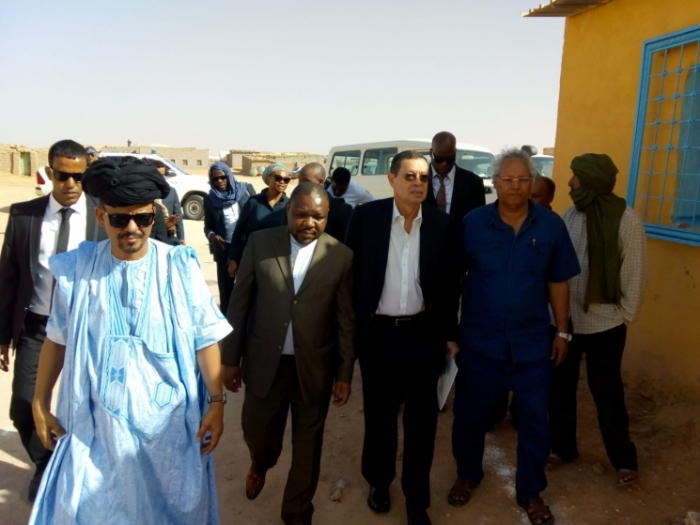 South African Deputy Minister of International Relations and Cooperation on working visit to Sahrawi Republic | Sahara Press Service