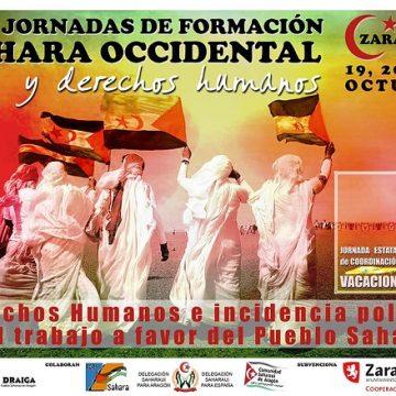 19, 20 y 21 de octubre – VIII Jornadas de Formación de delegados y delegadas saharauis y de CEAS-Sahara en Zaragoza