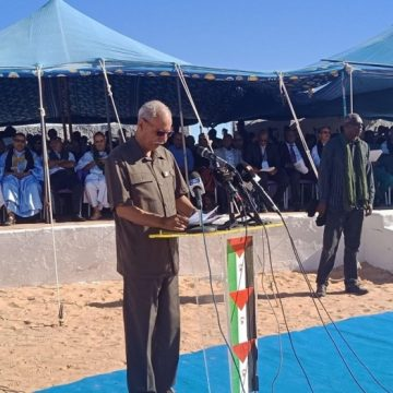 """""""The National Unity is a remarkable history in the struggle of the Saharawi people"""" (President of the Republic) 