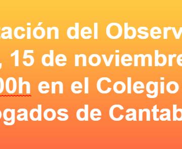 """Nace el """"OBSERVATORIO CÁNTABRO DE DERECHOS HUMANOS PARA EL SÁHARA OCCIDENTAL"""""""