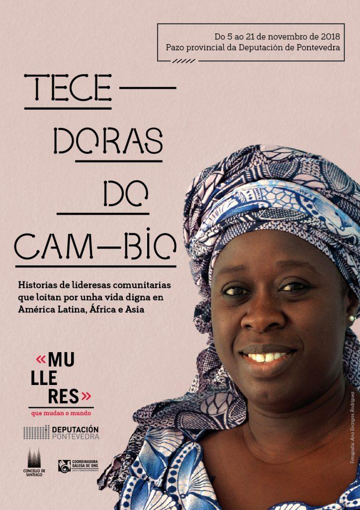 A exposición fotográfica 'Tecedoras do cambio', en Pontevedra – Coordinadora Galega de ONG para o Desenvolvemento