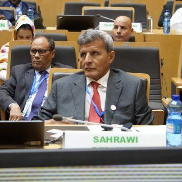 La RASD participa en las labores de la 20 Sesión Extraordinaria del Consejo Ejecutivo de Ministros de Relaciones Exteriores de la UA | Sahara Press Service