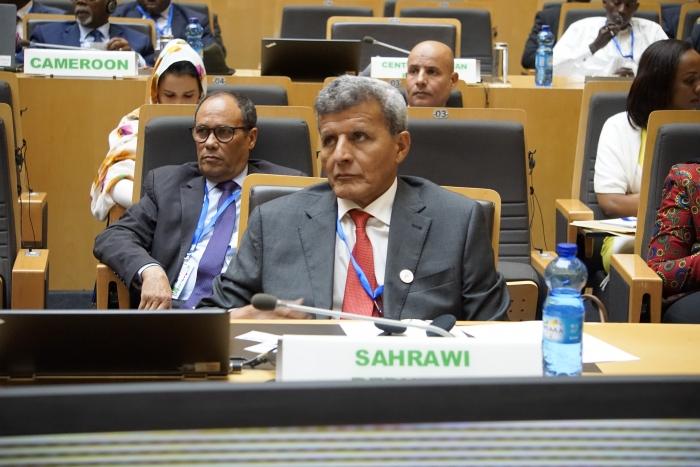 La RASD participa en las labores de la 20 Sesión Extraordinaria del Consejo Ejecutivo de Ministros de Relaciones Exteriores de la UA   Sahara Press Service