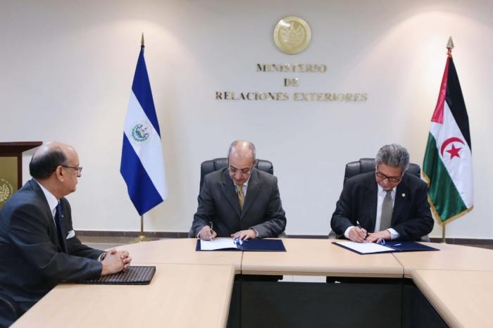 La RASD y El Salvador suscriben convenio de cooperación | Sahara Press Service