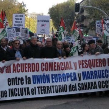 """Una marea saharaui sale a la calle contra """"los acuerdos ilegales"""" entre la UE y Marruecos – cuartopoder.es"""