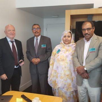 Le président du Conseil national en visite au Parlement européen | Sahara Press Service