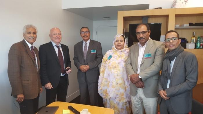 Le président du Conseil national en visite au Parlement européen   Sahara Press Service