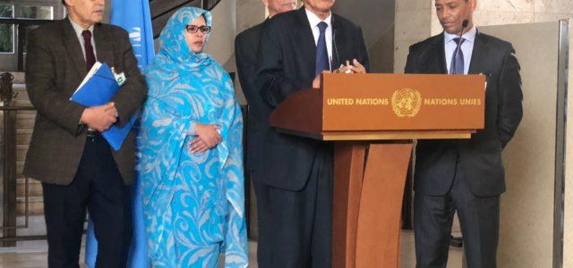 Ginebra: Negociación entre el Frente Polisario y Marruecos debe aplicar las Resoluciones de la ONU sobre el derecho saharaui a la autodeterminación. En Chile piden apurar Referéndum de Autodeterminación.   werken rojo