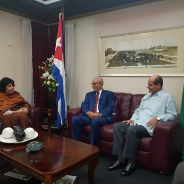 Presidente Saharaui 🇪🇭 Brahim Gali inicia visita oficial a la República de Cuba (vídeo)