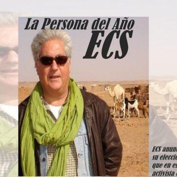 """El Confidencial Saharaui: Carlos Cristóbal, elegido persona del año por """"El Confidencial Saharaui""""."""
