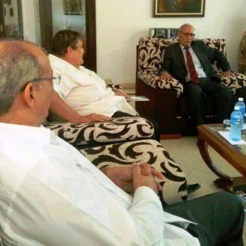 El Presidente Saharaui recibe a representantes del Grupo Parlamentario Cubano de Solidaridad con el Pueblo Saharaui. | Sahara Press Service