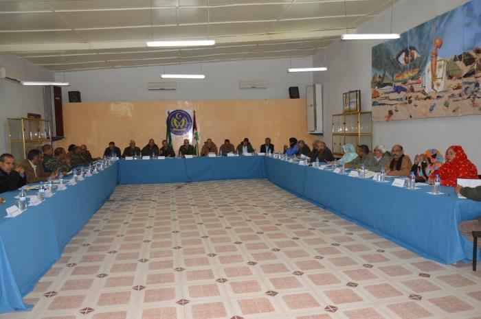 National Secretariat of Frente POLISARIO holds its ninth ordinary session | Sahara Press Service