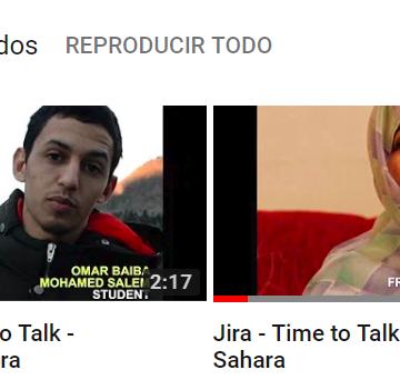 Jira – / Omar – Time to Talk – Western Sahara