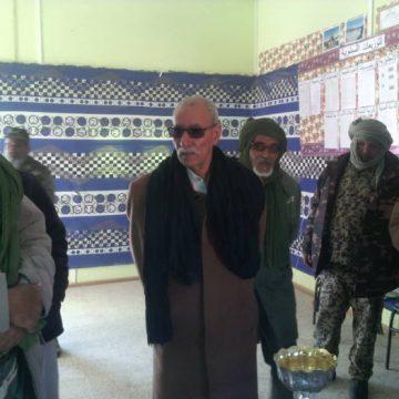 El presidente Brahim Gali de gira por las wilayas