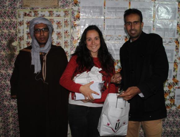 Membres del SEMB de l'EPS participen en un projecte sobre construcció sostenible als Campaments de Refugiats Saharauis de Tindouf
