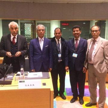 La República Saharaui participa en Bruselas en la reunión de ministros de Asuntos Exteriores de la Unión Africana y la UE | Sahara Press Service