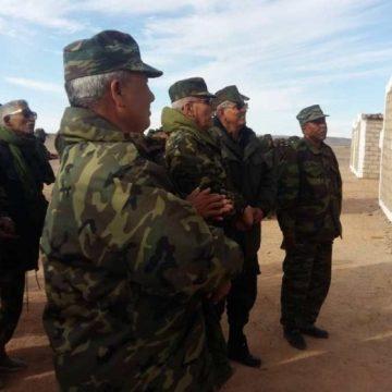Brahim Ghali inaugura un complejo administrativo en la cuarta región militar. | Sahara Press Service