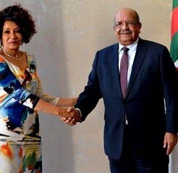 Argelia y Sudáfrica renuevan su apoyo al derecho del pueblo saharaui a la libre determinación y la libertad.   Sahara Press Service