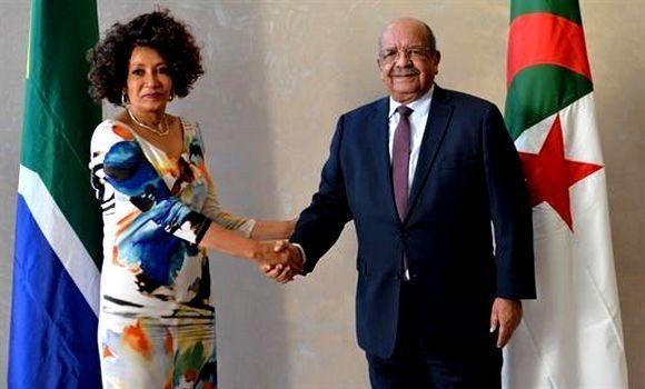Argelia y Sudáfrica renuevan su apoyo al derecho del pueblo saharaui a la libre determinación y la libertad. | Sahara Press Service
