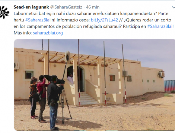 Tuits #SaharaOccidental 2019: @SaharaGasteiz – #SaharazBlai (7 de enero)