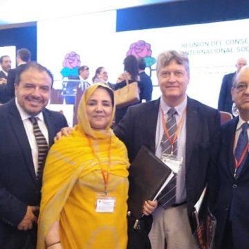 UNMS   UNIÓN NACIONAL DE MUJERES SAHARAUIS.: Consejo de la Internacional Socialista ,expresa su apoyo al llamamiento hecho por las Naciones Unidas a las partes en conflicto, Marruecos y F.Polisario