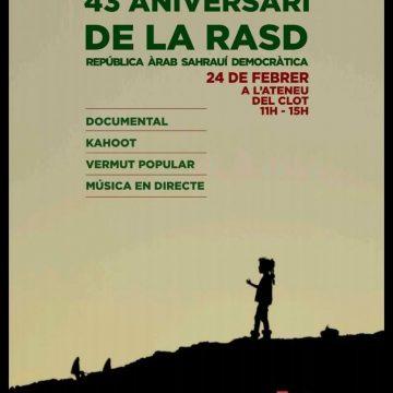 43 aniversari de la RASD – Liga de Estudiantes y Jóvenes Saharauis en el Estado Español