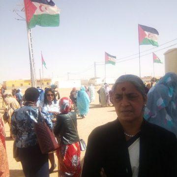 La Federación Nacional de Mujeres de la India elogia la lucha y la resistencia de las mujeres saharauis | Sahara Press Service
