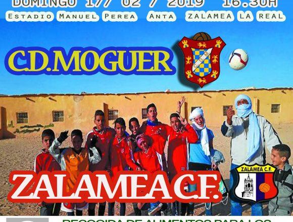 Recogida de alimentos para el pueblo saharaui en el Zalamea-Moguer