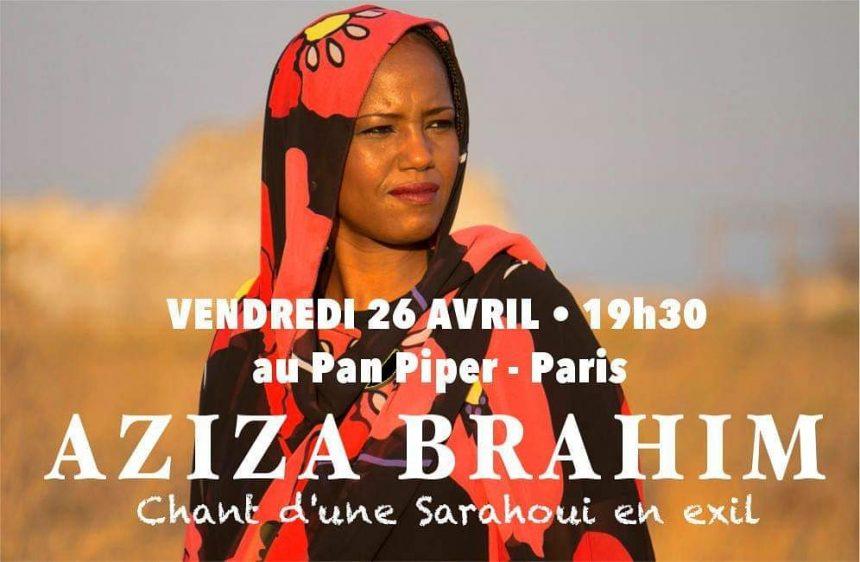 Nous sommes heureux de vous annoncer la reprogrammation du concert d'AZIZA BRAHIM le Vendredi 26 Avril 2019 au PAN PIPER – Paris