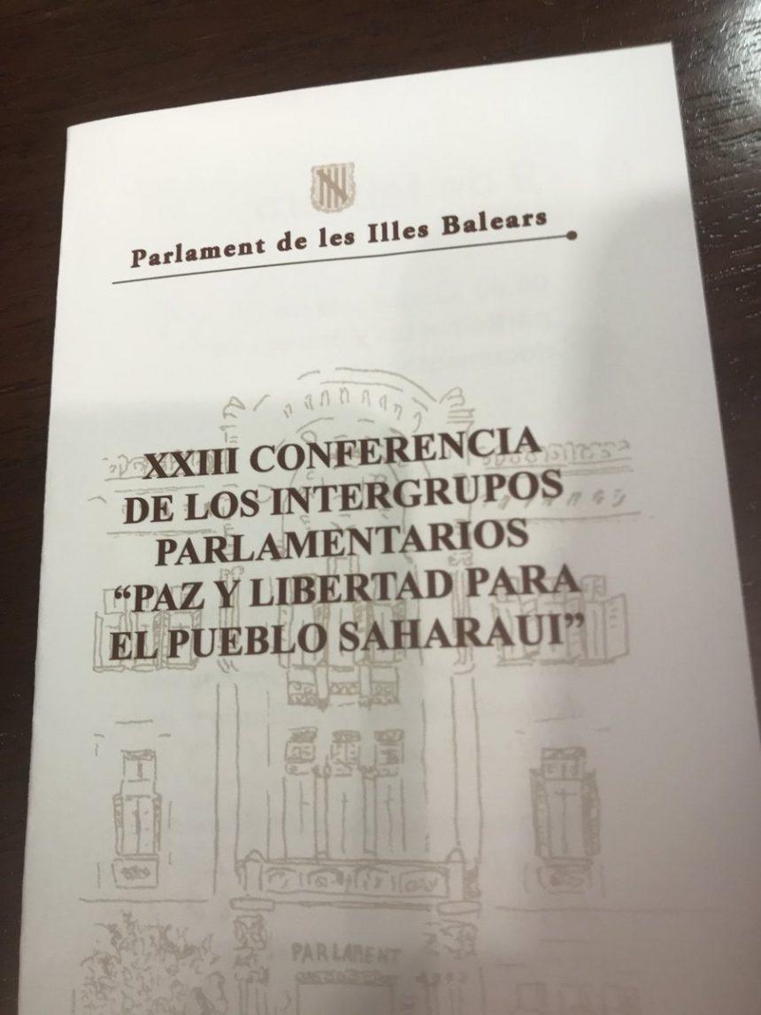 """XXIII conferencia de Intergrupos parlamentarios """"Paz y solidaridad con el pueblo saharaui"""" (imágenes)"""