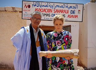 CATHERINE TAKES ON THE SAHARA – South African Earth Warrior and Social Justice Activist, Catherine Constantinides to take up the challenge and use her profile and passion for the environment and human rights, to participate in the 2019 Sahara Marathon