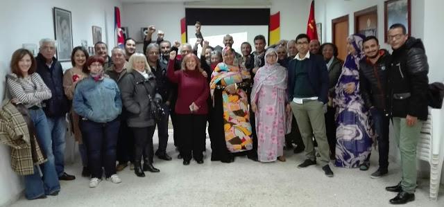"""Asociación de Cubanos Residentes en Andalucía """"Tocororo"""": Cubanos y saharauis comparten proyección del documental """"Diáspora en el Sáhara"""""""