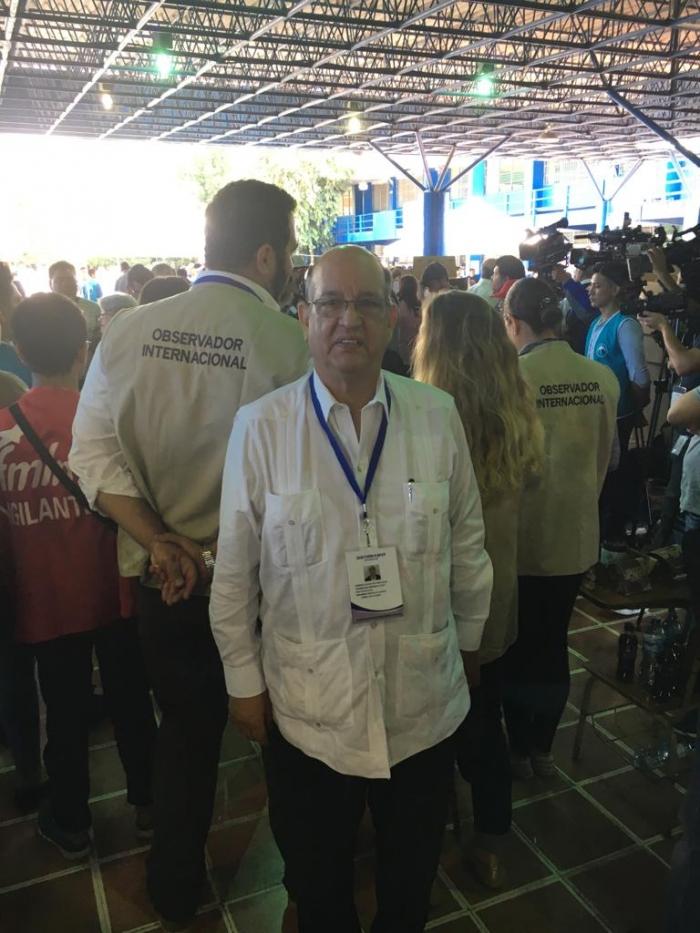 La República Saharaui participa en las elecciones presidenciales de El Salvador   Sahara Press Service