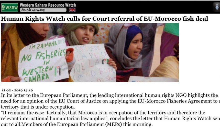 ⚡️ 🇪🇭 Las noticias saharauis del 11 de febrero de 2019: La #ActualidadSaharaui de HOY 🇪🇭🇪🇭