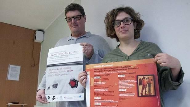 Sahara begiradan mira a la creación audiovisual sobre el pueblo saharaui. Noticias de Alava