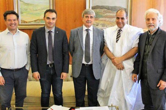 El delegado autonómico de la República Árabe Saharaui Democrática visita la ULE | Leonoticias