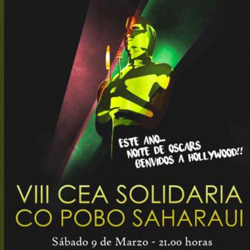 Cea solidaria en apoio do Programa Vacacións en Paz. Santiago de Compostela.