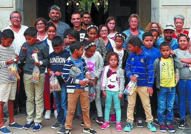 «El verano pasado vinieron tres niños y nos gustaría que este año fuesen más»   El Diario Vasco