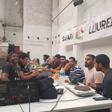 Celebración del 43 aniversario de la RASD en Cataluña — Liga de Estudiantes y Jóvenes Saharauis en el Estado Español