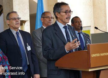 Marruecos y el Frente Polisario se comprometen en Suiza a seguir dialogando | DIARIO LA REALIDAD SAHARAUI